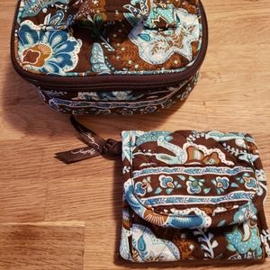 Lot of Vera Bradley wallet and travel case